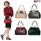 Banned-Crazy-Little-Thing-Vintage-Bag-50s-Rockabilly-Polka-Top-Handle-Handbag