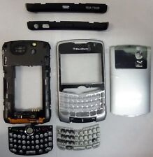 Blackberry Curve 8300 8310 8320 Housing Case Cover Original Keypad Silver OEM
