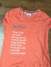 ✅John Baner SÜßes  Shirt Top Orange  ✅ Gr.36/38