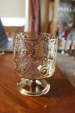 *NEW* Glittering Butterfly 3-Wick Candle Pedestal Bath & Body Works