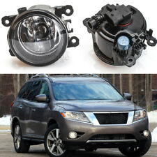 Pair Front Fog Lamps Light For NISSAN PATHFINDER R51 2005-2010 2011 2012 13 14
