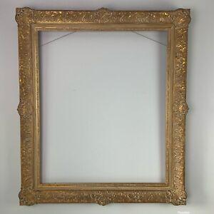 "Newcomb Macklin Louis XV Gilt Gold Ornate Frame 37"" X 32"" Fits 30""x 25"" Painting"