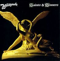 WHITESNAKE saints & sinners (CD album) blues rock, hard rock