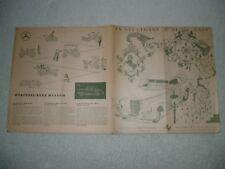 REISEPROSPEKT-STUTTGART-MERCEDES-BENZ-MUSEUM-UNTERKUNFTSVERZEICHNIS,1954/55