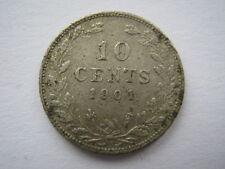 Netherlands 1901 10 Cents NVF