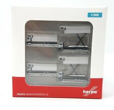 Airplane Herpa Wings 1/500 Airport Accessories A380 Catering Truck 4-in-1 Set