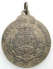 Belgique Medaille Liège 1914 WOI Albert & Elisabeth