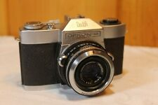 Vintage 35 MM SLR Dekon-SR DeJur Camera With Seikosha-SLV Lens - Made In Japan