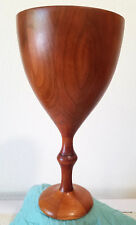 Gracefull Handmade Wood Chalice Goblet Cherry Wood S Blackmon Artist wedding