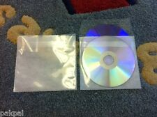 1000 Double Cd Dvd Pp Sleeves Withnon Woven Fabric Liner Amp Tuck In Flap Ps15