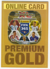 Panini Adrenalyn XL Fifa 365 2017 Online Card ( LIMITED ) Gold