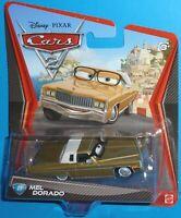 2011 Disney Pixar Cars 2 Mel Dorado with Glasses #27 NEW VHTF
