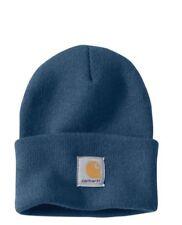 Carhartt Acrylic Watch Cap - Dark Blue Iconic Watch Hat Ski Hat