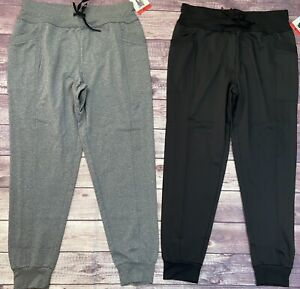 32 Degrees Side Pocket Joggers Gray or Black S M XXL