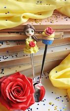 Tasty spoon Belle Cupcake tea Party coffe personalized gift! ONE piece