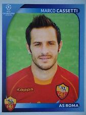 Panini 457 Marco Cassetti AS Roma UEFA CL 2008/09