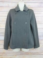 Eileen Fisher Small double breasted Merino Wool blend sweater jacket Womens S