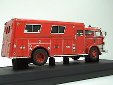 1960 MACK C FIRE RESCUE BOX - WEST HEMPSTED  1:50 SCALE SIGNATURE MODEL
