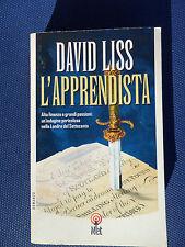 L'apprendista -David Liss-Alta finanza e grandi passioni: un'indagine pericolosa