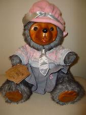 "Robert Raikes Limited Edition Bear ""Daisy"" #5468 1986 Tags Still Attached"
