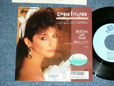 "GLORIA ESTEFAN MIAMI SOUND MACHINE Japan 1987 NM 7""45 BETCHA SAY THAT"
