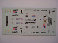 DECALS KIT 1/43 CADILLAC LMP NORTHSTAR N. 1 LE MANS 2000 DECALS