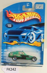 Hot wheels HW Police Enforcer Green Collector #150 FNQHotwheels FK242