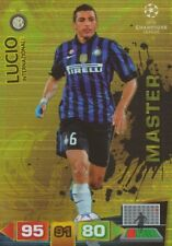 LUCIO MASTERS FC.INTER CARD ADRENALYN CHAMPIONS LEAGUE 2012 PANINI