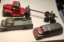 New Listing(3) Tootsie Toy trucks - Log Truck 1/43 - Pick Up & Fuel Tanker