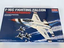 Academy USAF THUNDERBIRDS F-16C FIGHTING FALCON 1/48 Scale New/Sealed