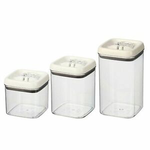 Better Homes & Gardens Flip Tite Food Storage Set, 3 Canisters