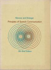 Principles of Speech Communication 6th Brief Edition - Alan H. Monroe & Douglas