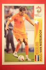 Panini EURO 2008 N 520 VAN NISTELROOY STAR EUROPEO NEW With BLACK BACK TOPMINT