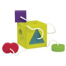 Oombee Cube, Sortierbox Spielzeug aus Silikon, von FatBrain, ab 6 Monate (50069)