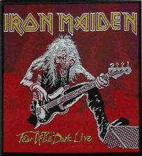 "IRON MAIDEN AUFNÄHER / PATCH ""10"" FEAR OF THE DARK LIVE"