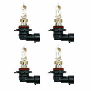 4x Original OEM Sylvania 9005 HB3 Headlight High Beam Halogen Light Bulbs Lamps