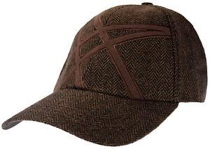ASICS Unisex Mercado Baseball Cap Hat, Brown