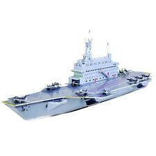 Cardboard Jigsaw 3D Puzzle Aircraft Carrier - Cool Hobbies Toy B568-13