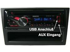 CD MP3 USB Autoradio Opel Corsa Astra Agila Vectra Radio Radioblende bis 2004 §