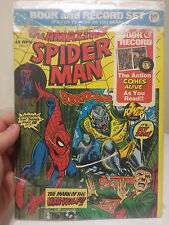 The Amazing Spider-Man Book and Record Set 1974 Marvel
