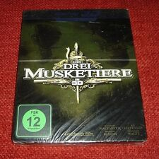 The Three Musketeers 3D / Media Markt Exclusive / *Blu - Ray Steelbook* / German