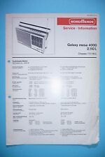 Service-Manual-Anleitung für NordMende Galaxy mesa 4000 2.110 L  , ORIGINAL
