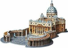 Wrebbit Puzz 3D Puzzle Foam - St. Peter's Basilica Sealed Collectible!