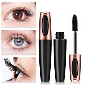 4D Silk Fibre Mascara Waterproof Eyelash Extension Volume Long Lasting MakeUp