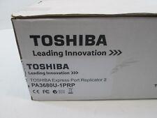 Toshiba PA3680U-1PRP Express Port Replicator II w/ Power Adapter New