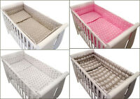3p BabyBeddingSet/ALL ROUND BUMPER/DuvetCover/Pillowcase for COT or COT BED