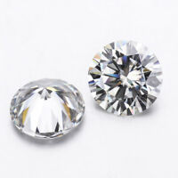 Round Brilliant Cut 8Hearts 8arrows GH VVS 6.5mm 1.0ct Loose Moissanite Stone
