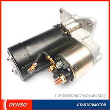 Genuine OE Denso Brand New Starter Motor - Maximum Cranking Torque