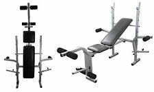 Weight Bench Folding & Adjustable Fitness Lifting Training Bench Incline & Flat