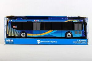 "Daron 11"" City Bus MTA M4 CrossTown New York City metro 1:43 scale New Livery"